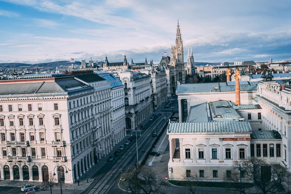 Wien Aussicht Justizpalast Cafe Tipps