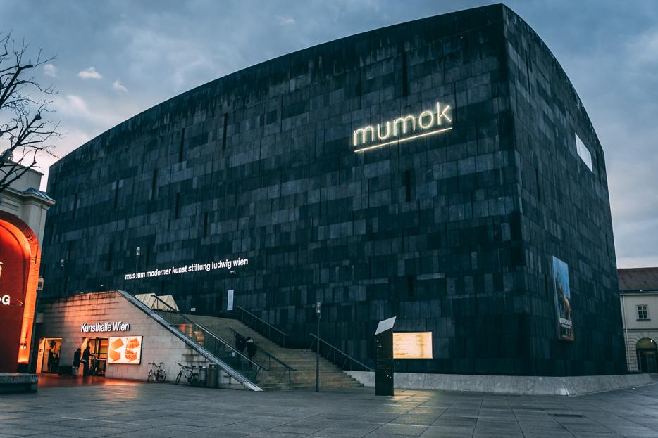 mumok Museum moderne Kunst Wien Tipps Sehenswürdigkeiten Museumsquartier