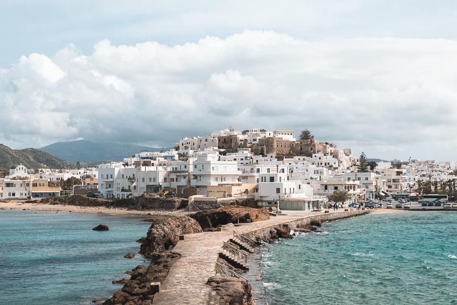 Naxos Kykladen Griechenland Frühling März April