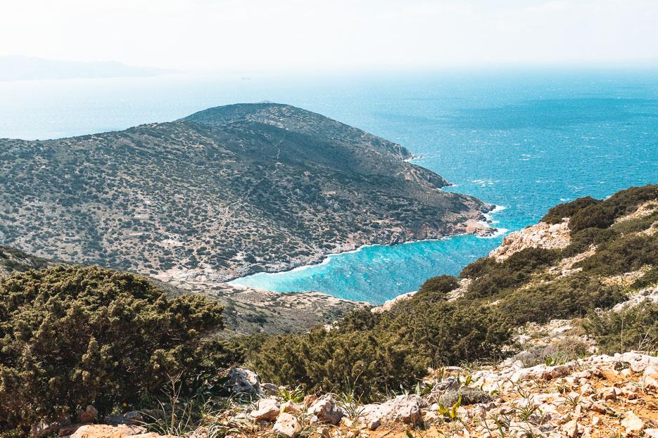 iraklia kykladen griechenland wandern höhle Agios Ioannis