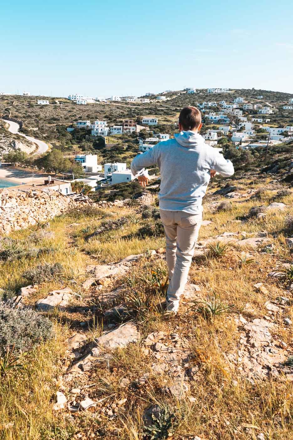 kykladen iraklia griechenland Agios Georgios
