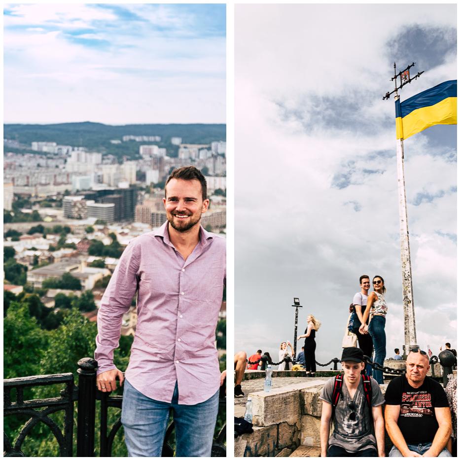 lviv lemberg high castle hill aussicht