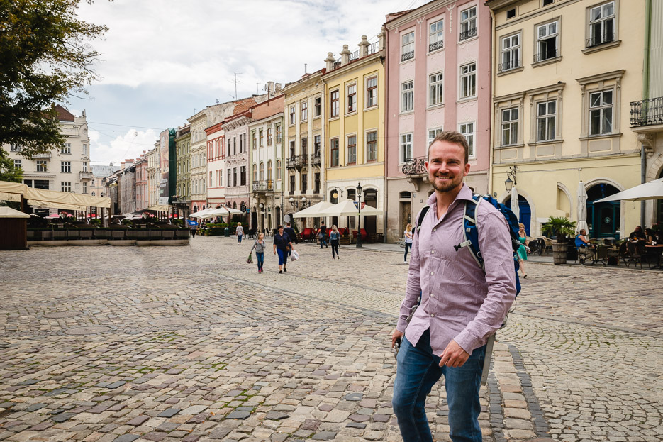 rynok square Lviv lemberg