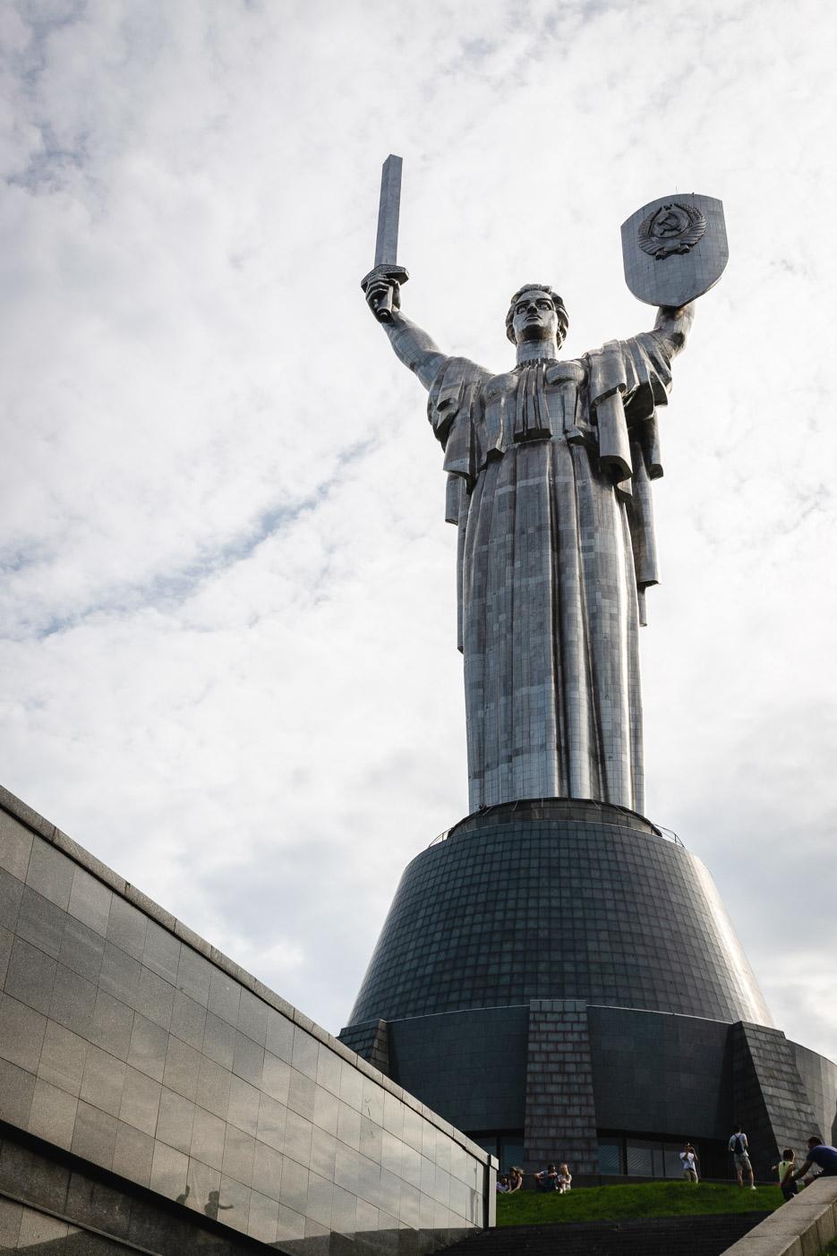 kiew mutter heimat statue