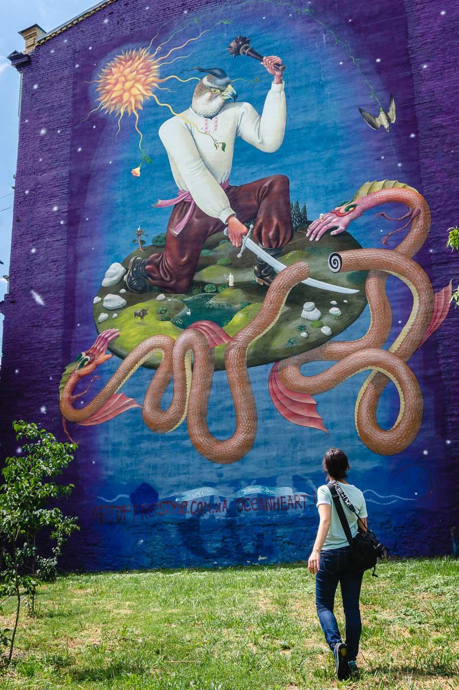 kiew streetart mural wandgemälde