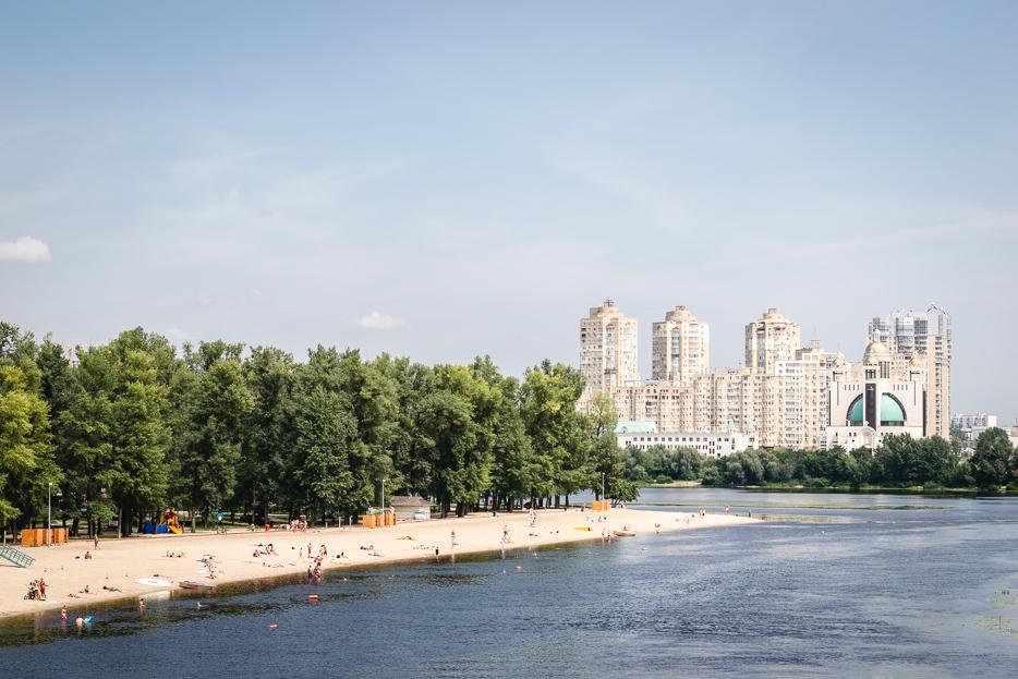 kiew strand hidropark