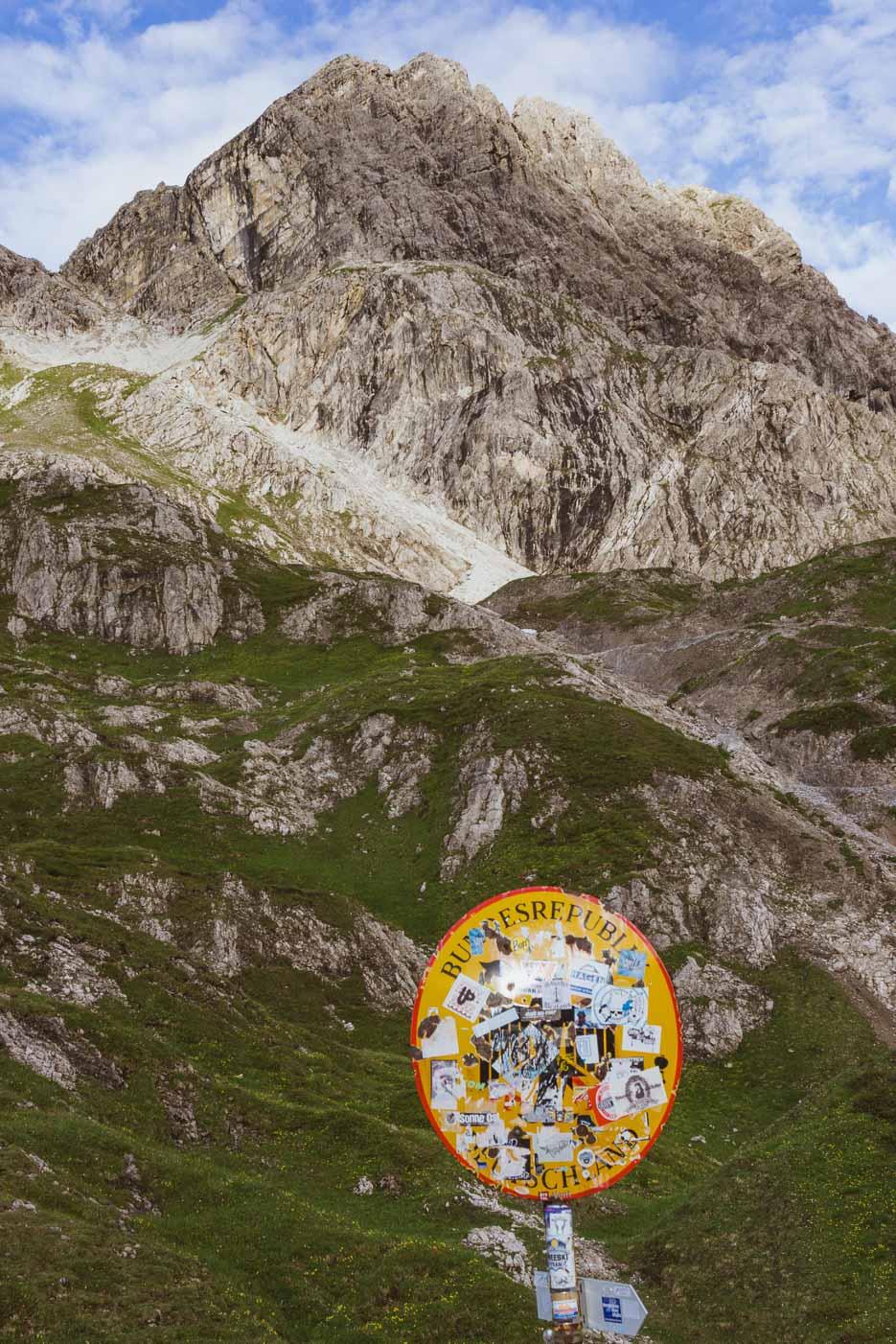 Deutschland Alpen