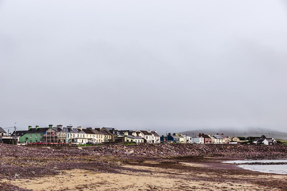 waterville bucht strand kerry way irland wanderung