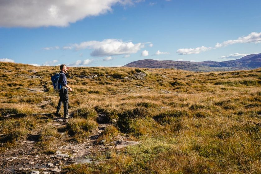 kerry way irland herbst individuell wandern