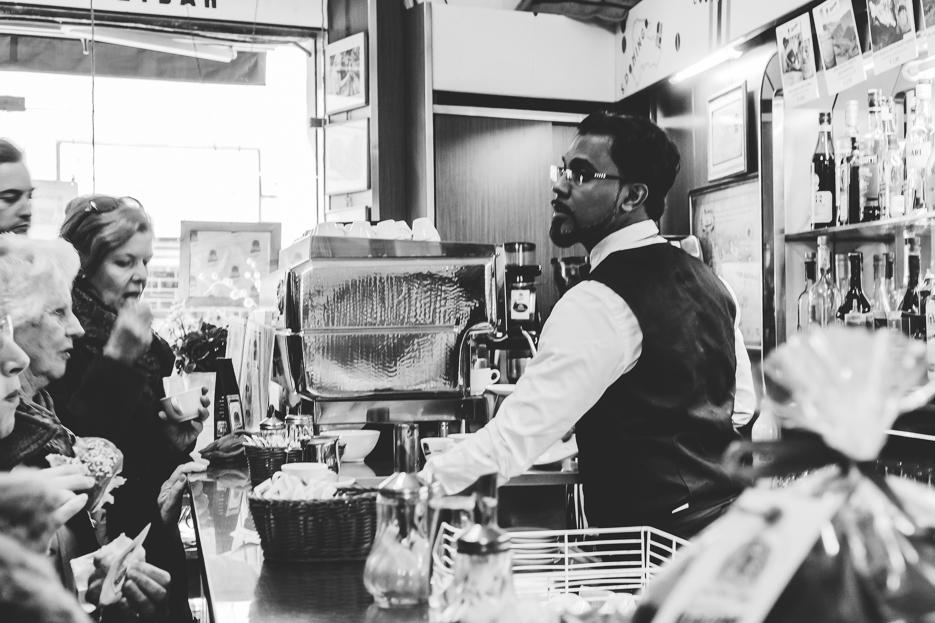 mailand torrefazione moka hodeidah kaffeerösterei espresso