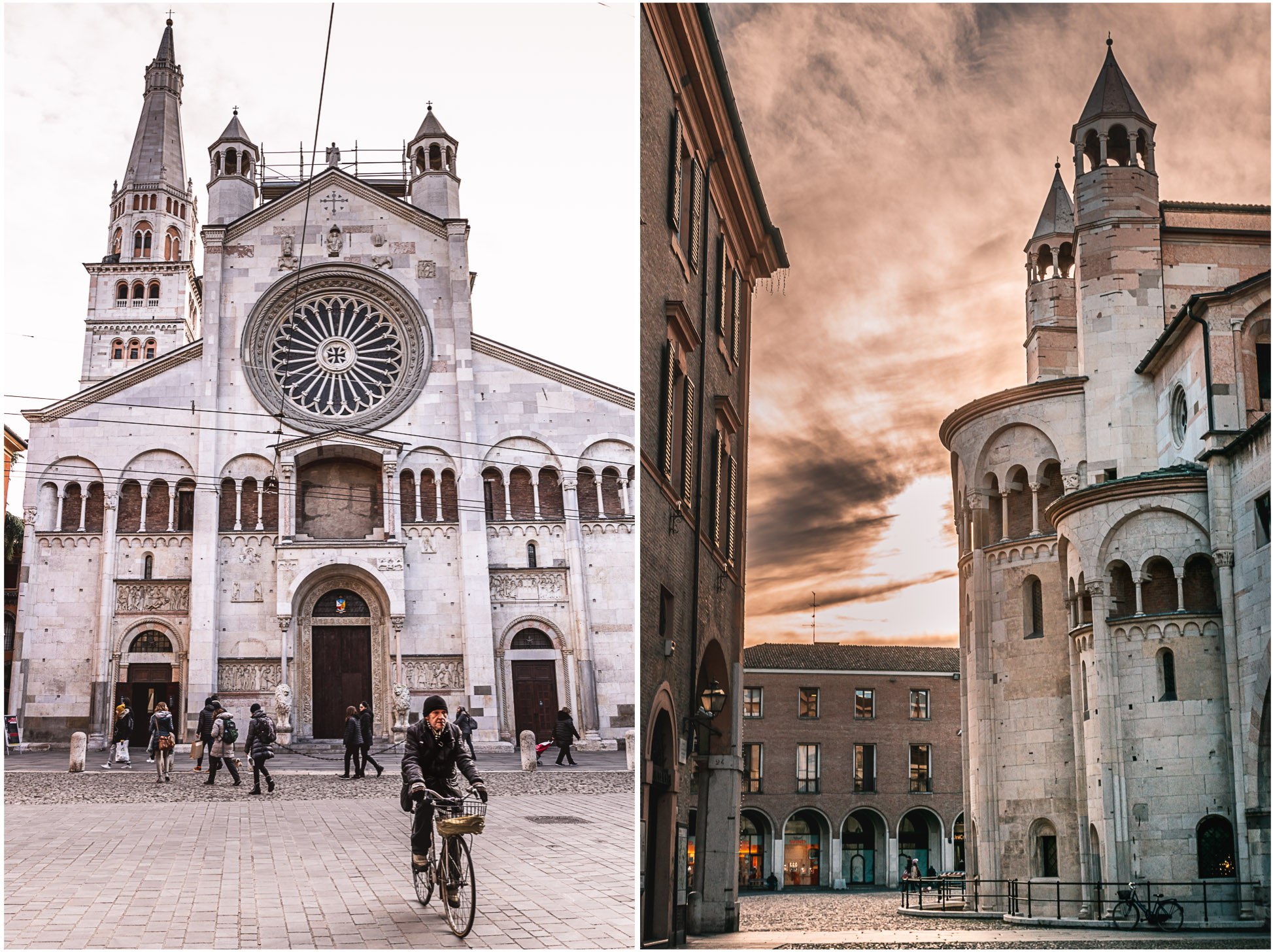 modena italien kathedrale torre ghirlandina