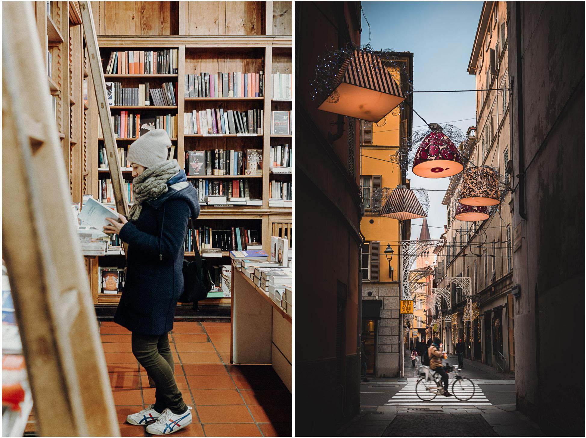 parma-altstadt-italien-lampen-straße-buchladen