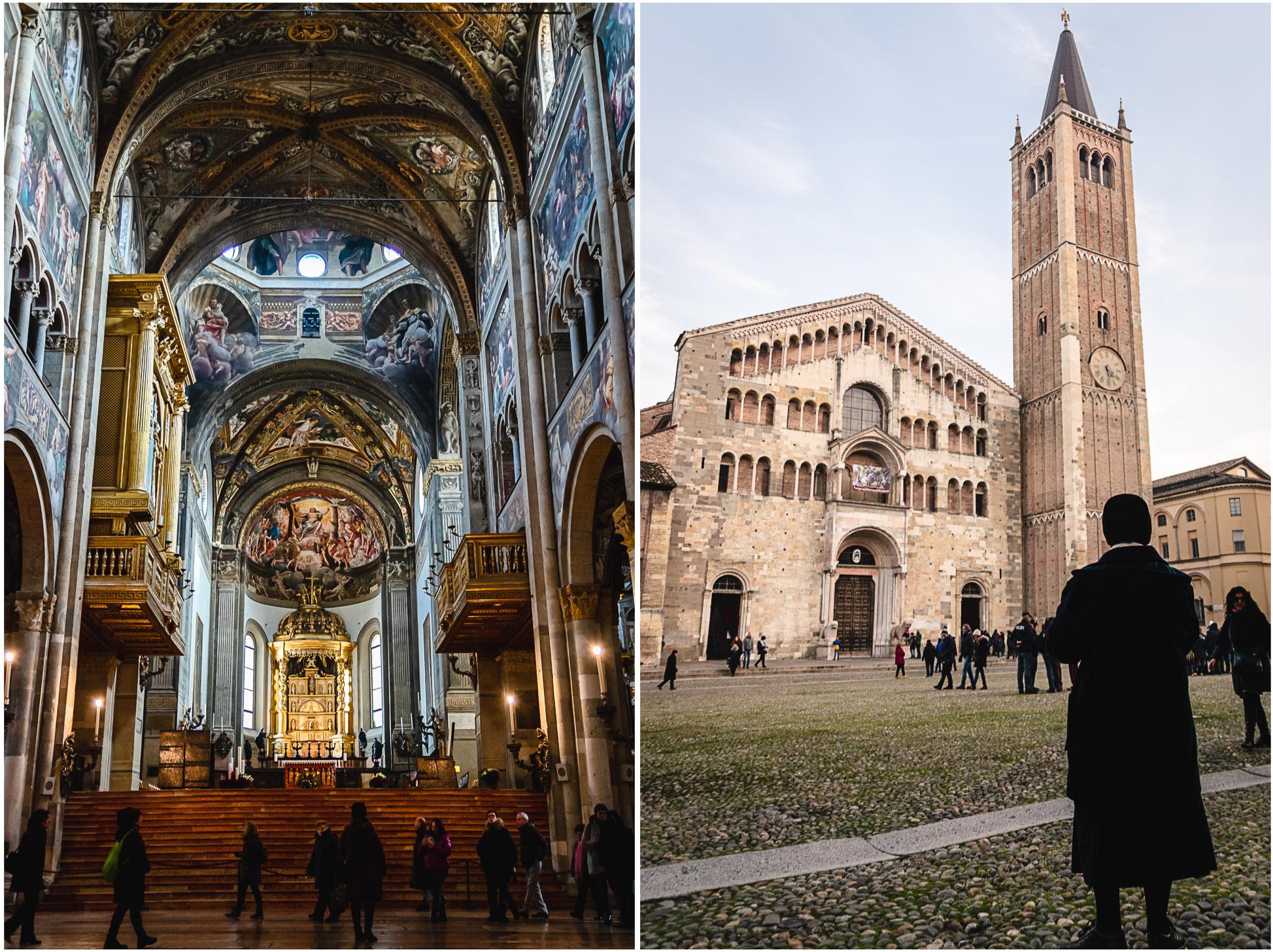 parma italien kathedrale dom