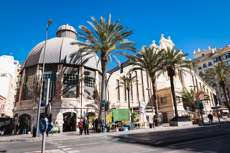 ALICANTE mercat central markt