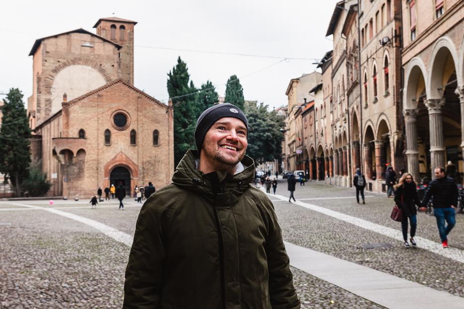 Bologna Piazza Santo Stefano Italien Sehenswürdigkeiten Tipps