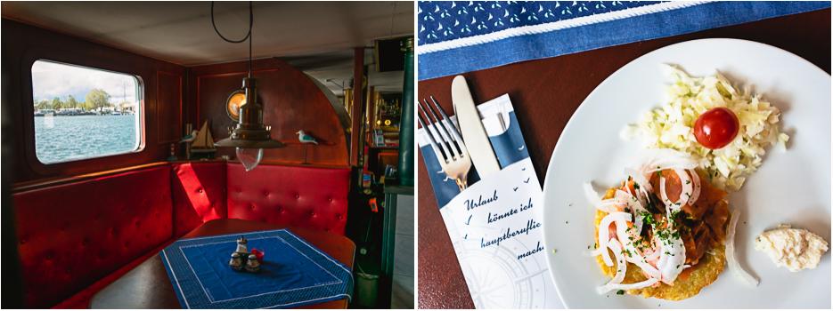 ms kragenhai usedom peenemünde restaurant