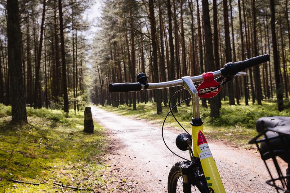 usedom trassenheide fahrrad leihen ausflug