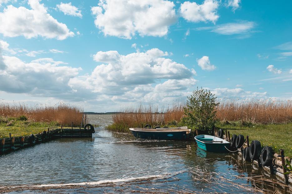 usedom achterwasser gnitz ausflug wanderung schiff boot