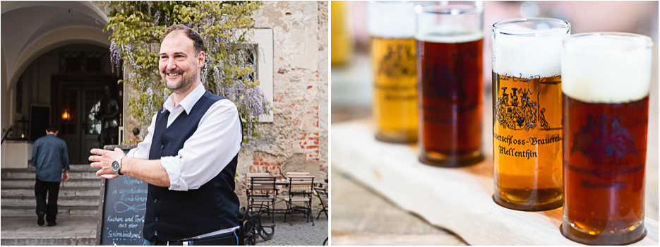 wasserschloss mellenthin usedom restaurant bier brauerei