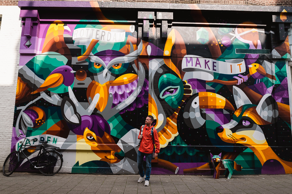 rotterdam streetart tour