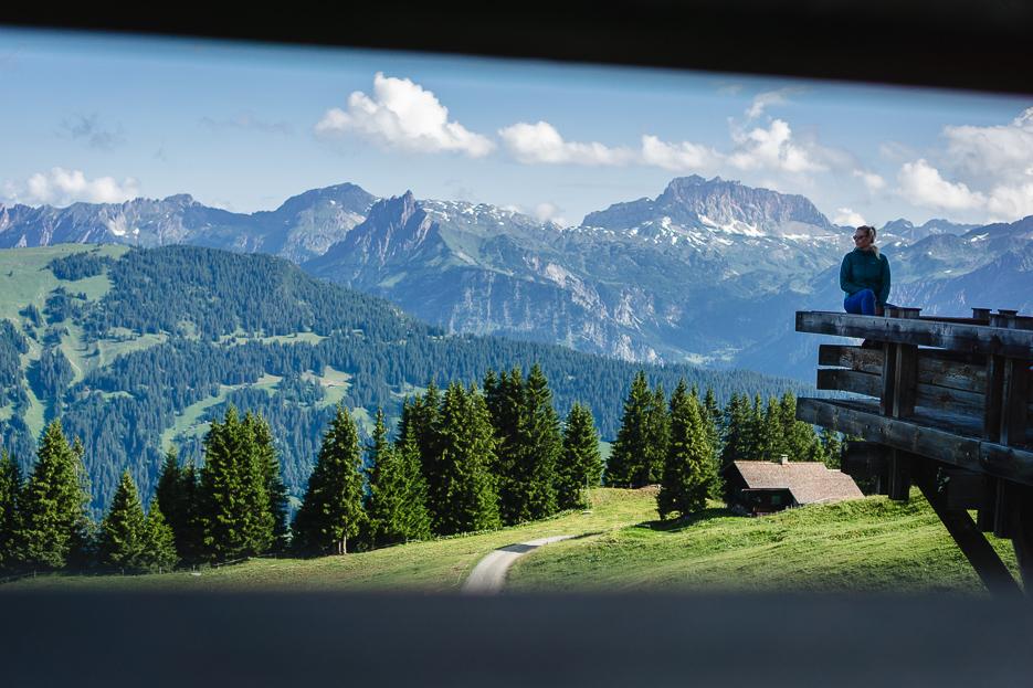 Montafon Österreich Berge Panorama