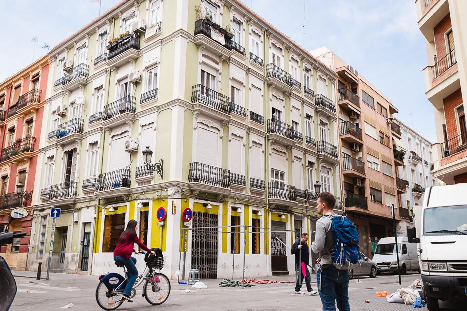 Ruzafa Valencia Spanien Hipsterviertel