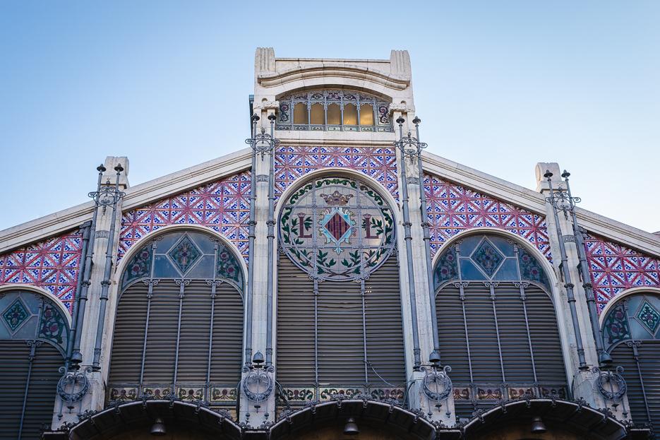 valencia mercat central architektur