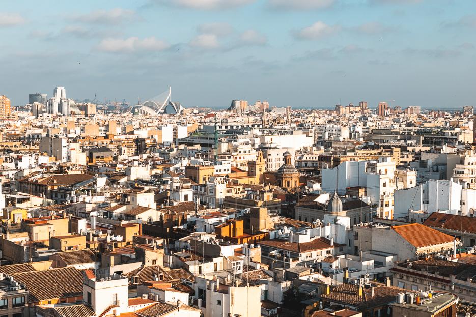 ausblick Valencia Torre Miguelete kathedrale