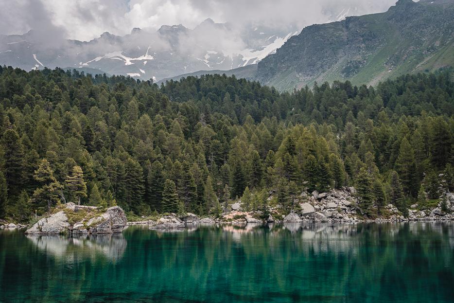 val da camp puschlav lago lagh da  saoseo