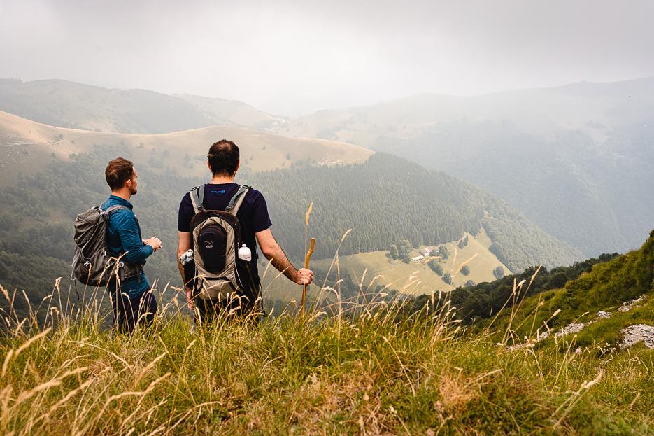 Lugano Monte Generoso Neveren Wanderung