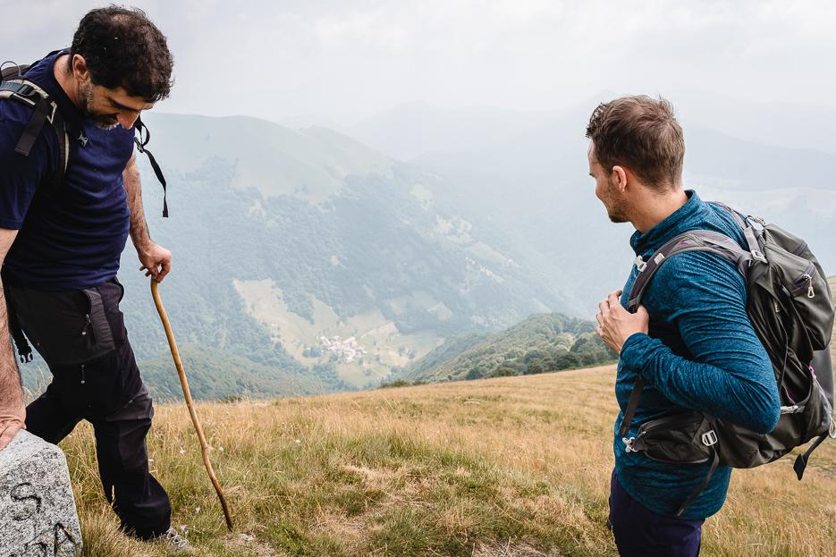 Lugano Wanderung Monte Generoso