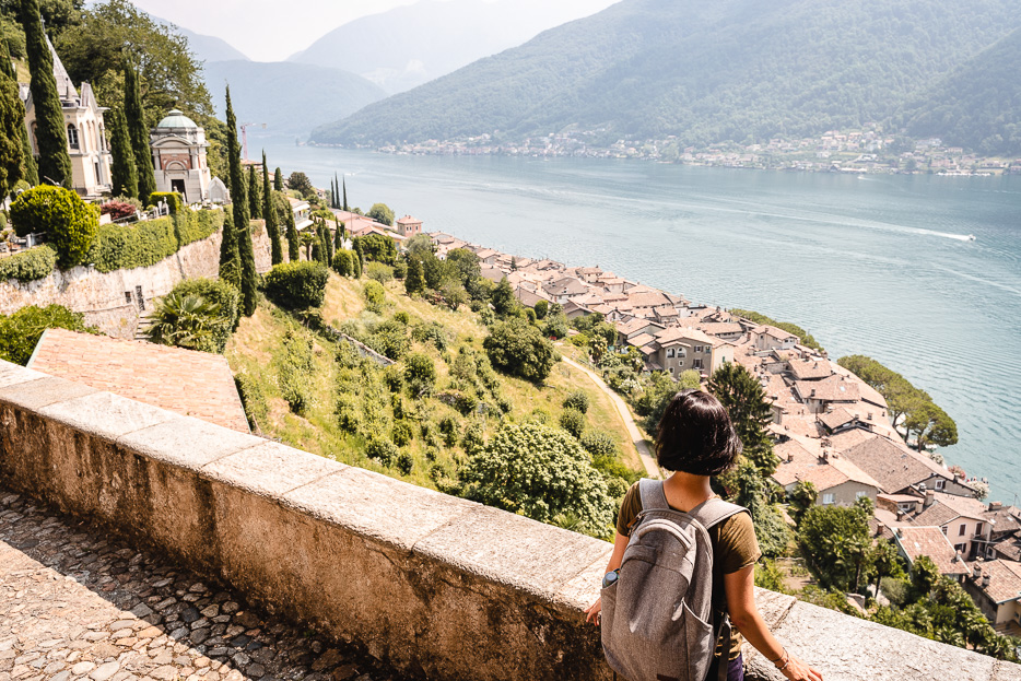 Lugano Morcote Tessin schönstes Dorf