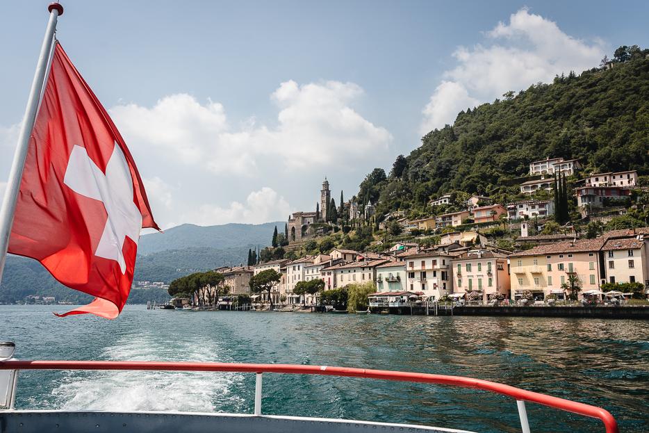 Lugano Schiff Fähre Morcote