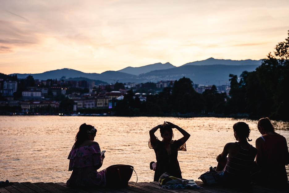 Lugano Lido Stadtstrand