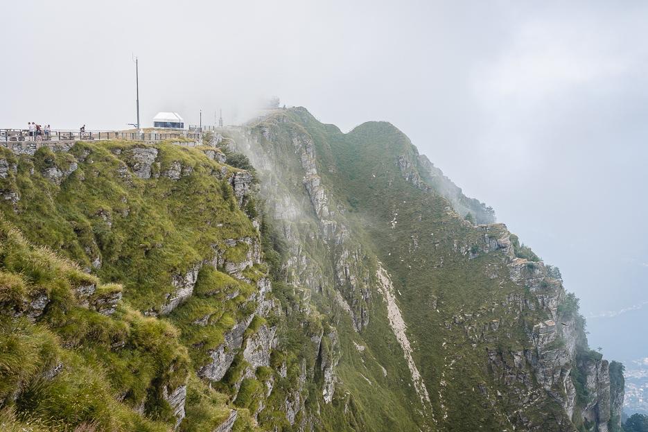 Monte Generoso Lugano Schweiz Wolken Aussicht