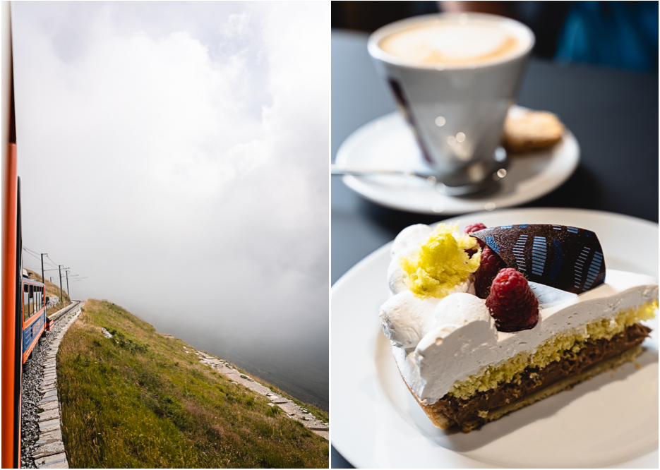Monte Generoso Botta Cafe Seilbahn Zahnradbahn