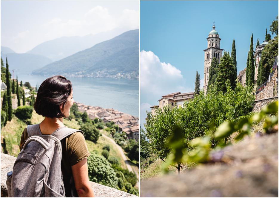 Morcote Lugano Schweiz Tessin schönstes Dorf