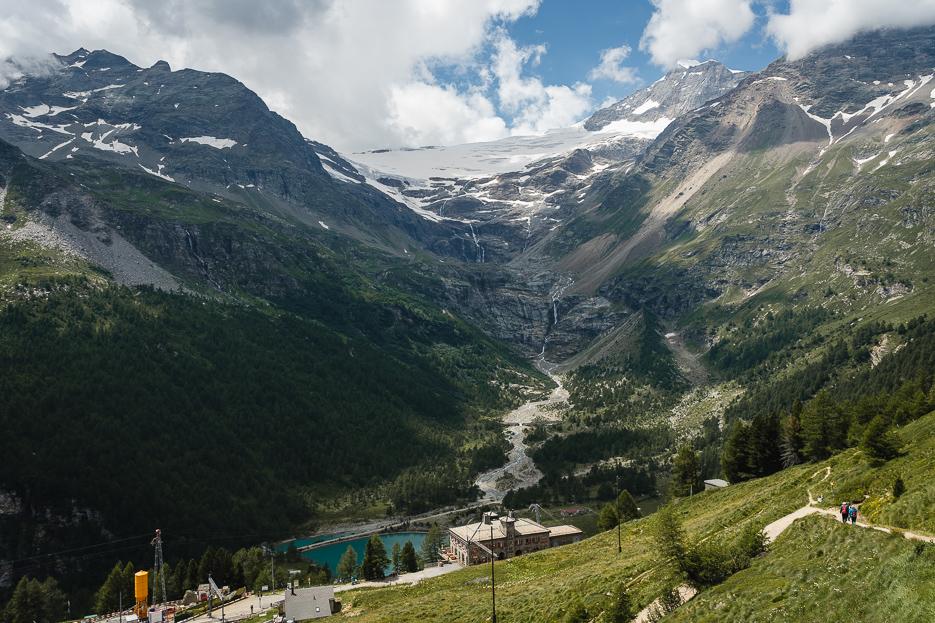 Piz Palü Schweiz Graubünden Ausblick Alp Grüm