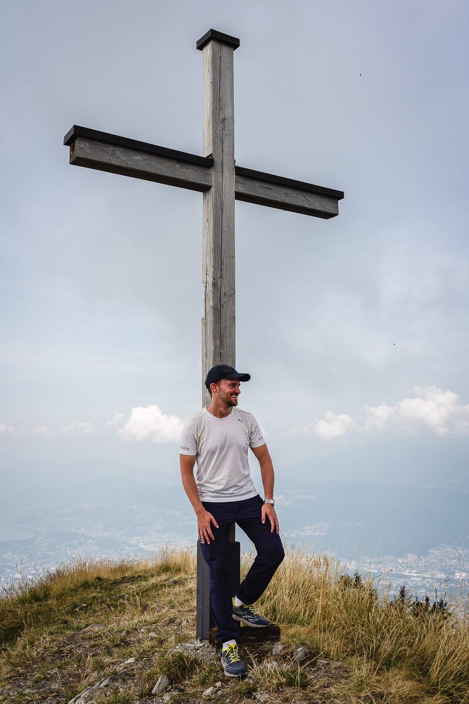 Monte Boglia Monte Bré Wanderung