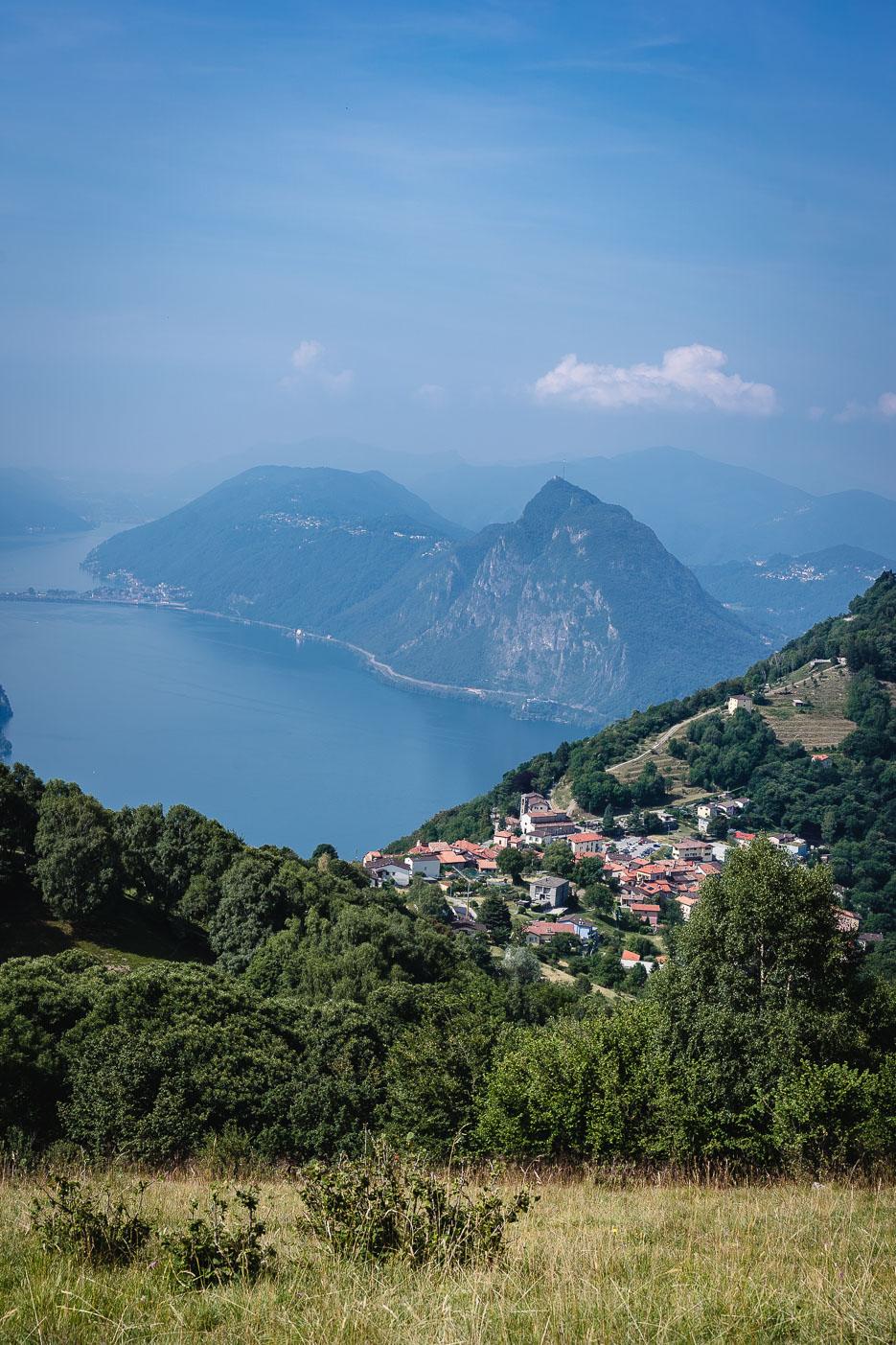 Monte Bré Aussicht Lugano Schweiz