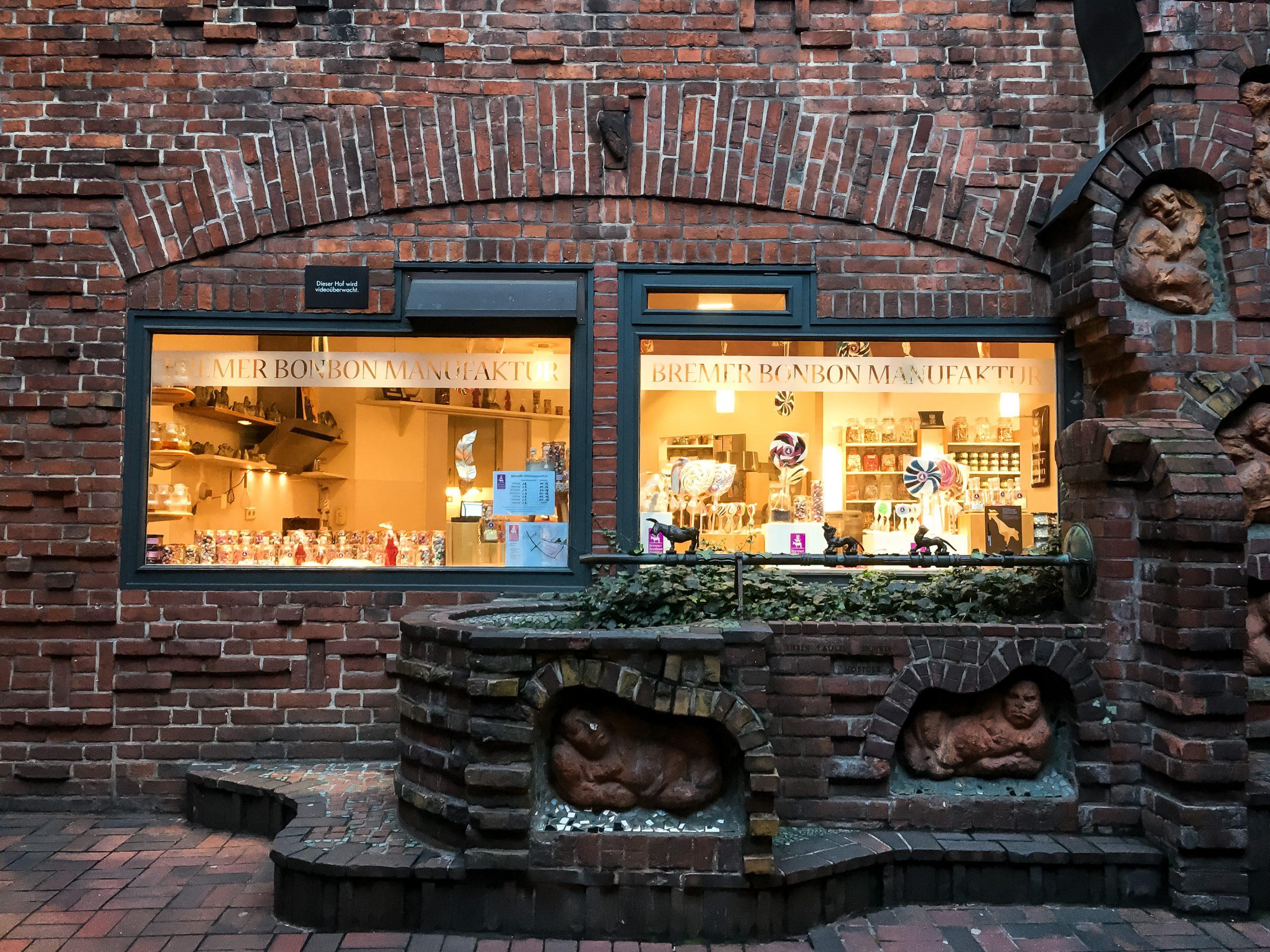 Bremen bonbonmanufaktur böttcherstraße