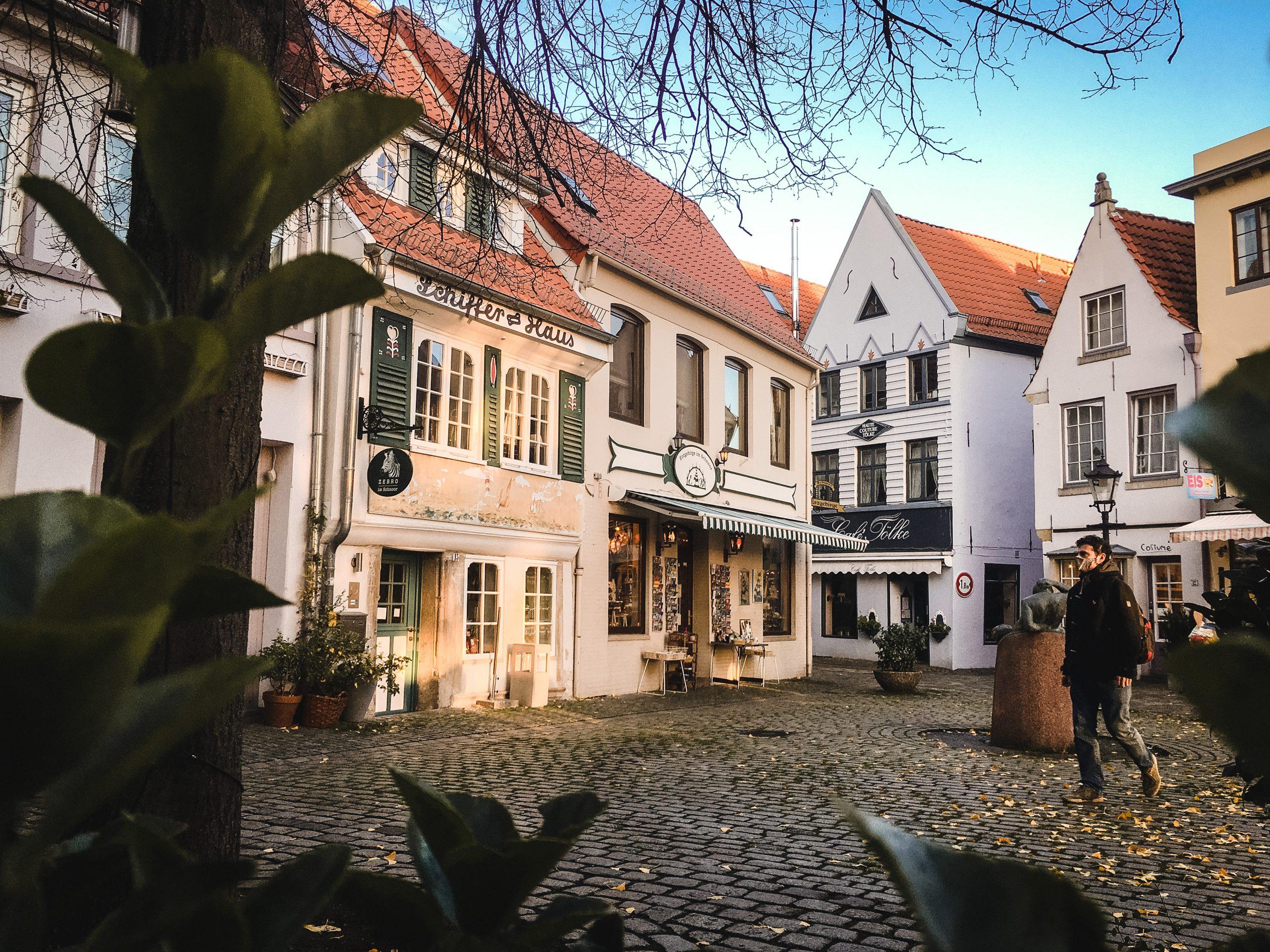Bremen Schnoorviertel Schnoor Altstadt