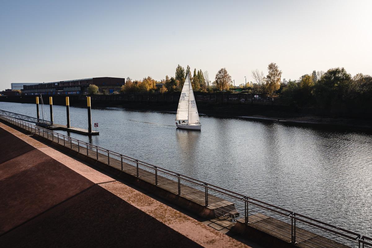 Bremen Überseestadt Europahafen