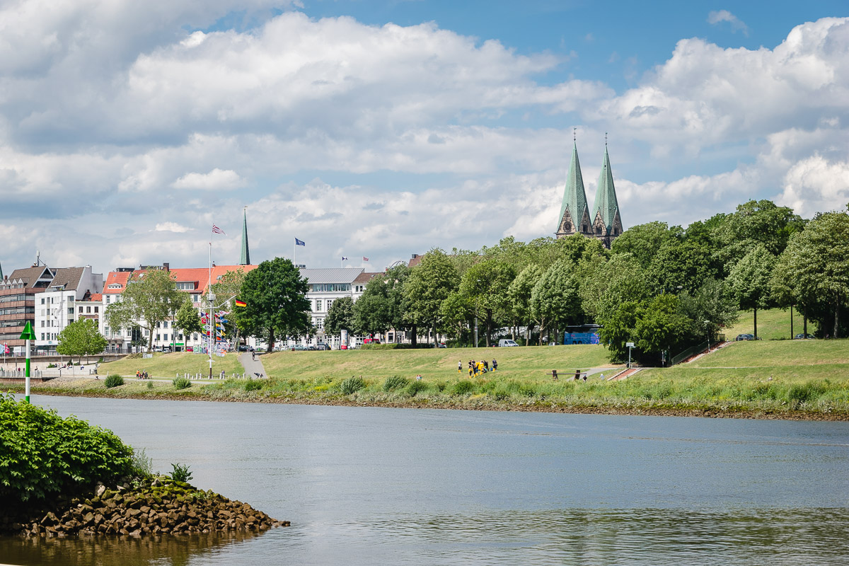 Bremen Werdersee Weser